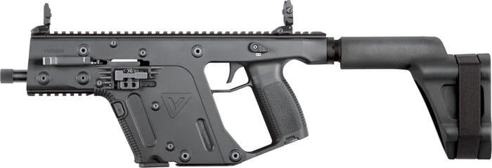 Kriss KV45PSBBL20 Vector SDP 45 ACP G2 5.5 Threaded Black ARM BRA