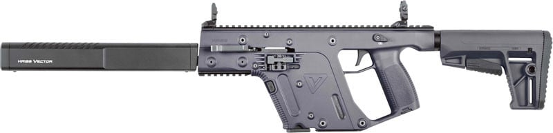 Kriss KV90CCG20 Vector CRB G2 9mm 16 Gray M4 Stock 17rd