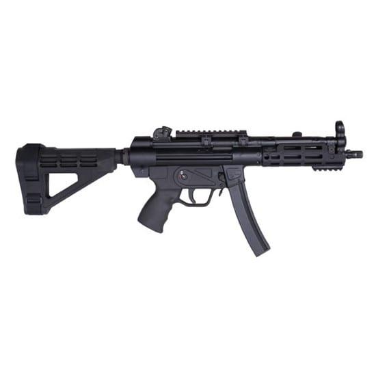 MKE Firearms MKZ5RSM4RMBK Zenith Z-5RS 9mm Pistolman 8.9 SBM4 PSB