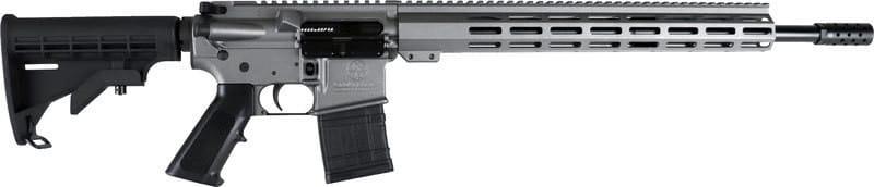 """Great Lakes Firearms G450TG AR15 18"""" NIT Barrel Tungsten Grey"""