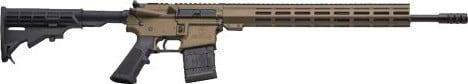"Great Lakes Firearms G450BR AR15 18"" NIT Barrel Burnt Bronze"