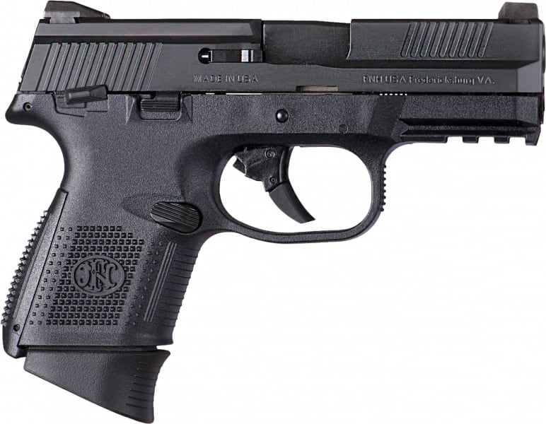 "FN 66772 FNS 9 Compact DA 9mm 3.6"" 17+1 Polymer Grip Black"