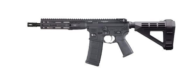 LWRC ICDIP5B10ML IC DI M-Lok Pistol .223 / 5.56