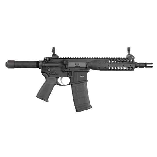 LWRC ICPSDPR5B8 PSD Pistol 5.56 8 Black