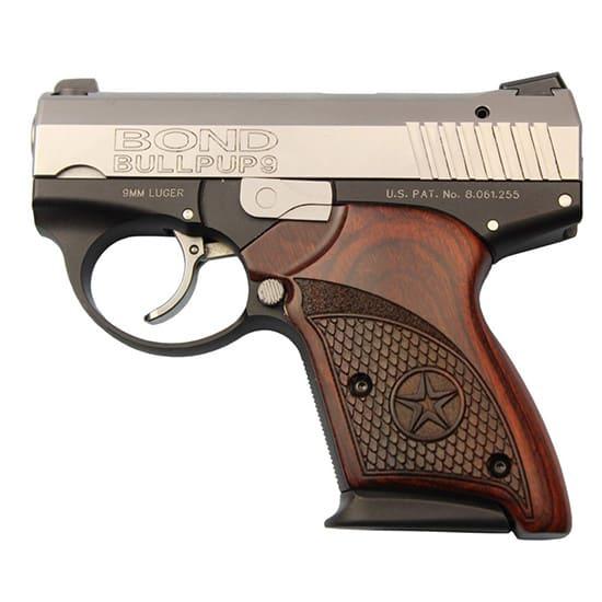 Bond BULLPUP9 9mm DAO 3.35 Ss/rsw 7rd