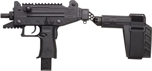 IWI UPP9SB UZI PRO Pistol 9mm 4.5 Black Poly w/ Brace