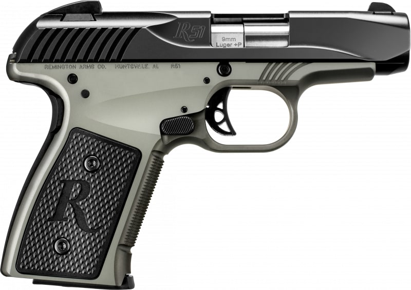 Remington 96234 R51 9MM+P Compact Smoke Synthetic Black