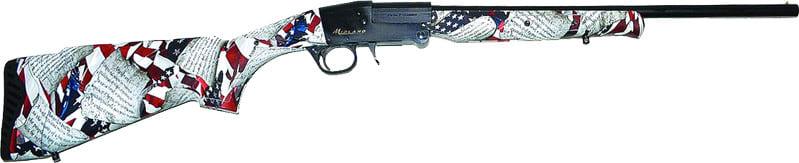 "Midland Arms USCGUN1218 Constitution 12GA. 3"" 18.5"" Single Barrel Shotgun"