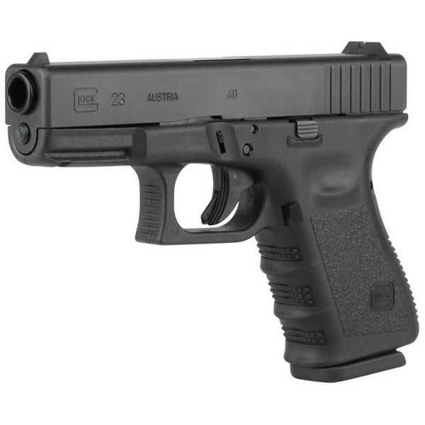 Glock 23 .40 Cal Sub Compact Handgun w/ F/S and (2) 13 Rd Mags PI2350203