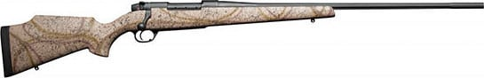 Weatherby MOFS240WR4O 240 Weatherby MKV 24 Fluted RC Outfitter Desert Camo