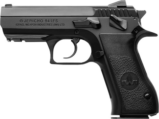 IWI J941FS910 Jericho 941 FS-9 3.8 Black Steel AS 10rd