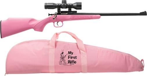 Crickett 2220BSC Pink Synthetic PKG Scope Mount Case