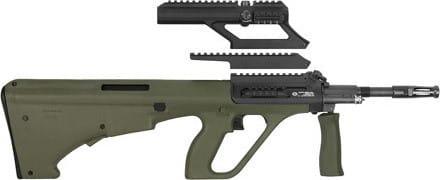 Steyr Mannlicher AUGM1GRNS AUG A3 M1 .223 Remington Green Short Rail