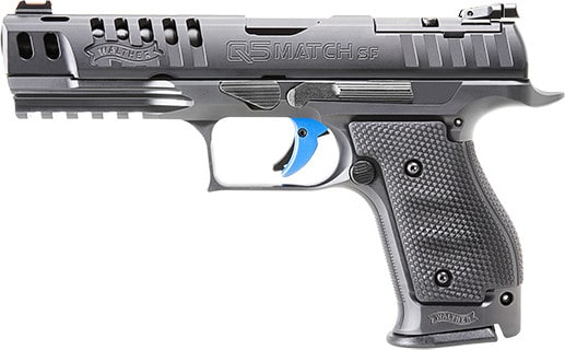 Walther 2846951 PPQ Q5 Match Frame PRO 9mm 17rd