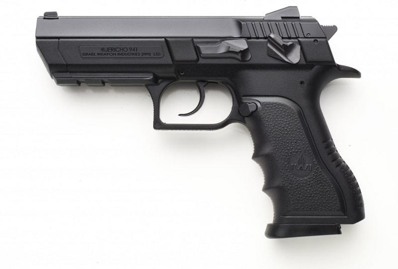 "IWI J941PL9II Jericho 941 9MM Semi-Auto Pistol - ENH 4.4"" BBl, 16 Round Capacity"
