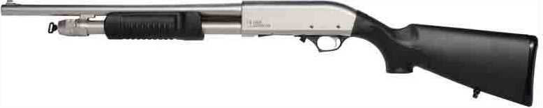"Iver Johnson Arms PAS12 Satin Johnson Shotgun 12GA 3"" Shotgun"