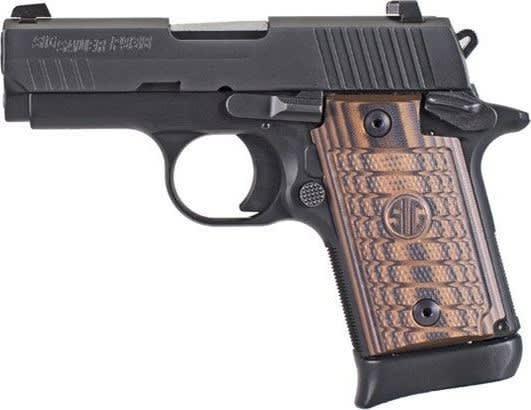 Sig Sauer 9389SELAMBI 938 Select 7rd Black