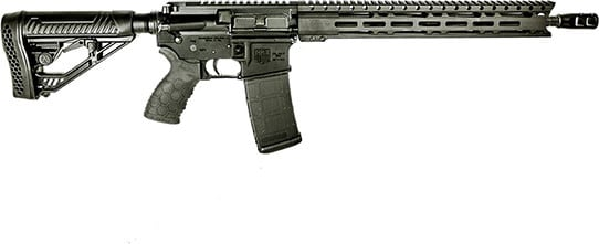 Diamondback DB15EMLB 15 M-LOK Rail Black
