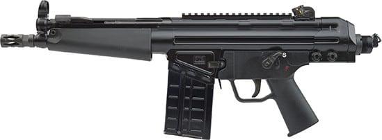 PTR PTR110 91 51P Pdwr 8.5 MP5 HG Black 20rd