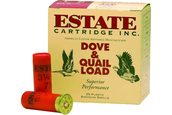"Estate HG128 Hunting Loads Upland 12GA 2.75"" 1 1/8oz #8 Shot - 25sh Box"