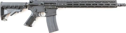 "Franklin Armory 1263-BLK M4 AR-15 Rifle .223/5.56 30rd 16"" LTW Contour Barrel w/ FST Free-Float Rail - Includes FSTIII Binary Trigger Pre-Installed From Factory"