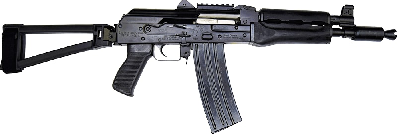 "Zastava Arms ZPAP85 Alpha AK-47 Pistol .223/5.56 30rd 10"" Barrel W/ TF1913 Folding Triangle Brace"