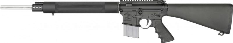 "RRA AR1530 LAR-15 Predator Pursuit AR-15 SA 20"" 30+1 A2 Stock Black"