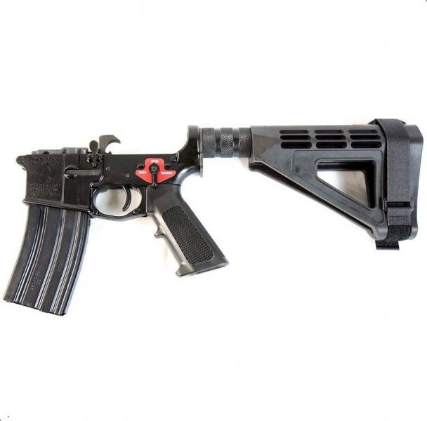 Franklin Armory 2037 BFSIII Equipped SE-SSP Complete AR Pistol Lower W/ SBM4 Brace