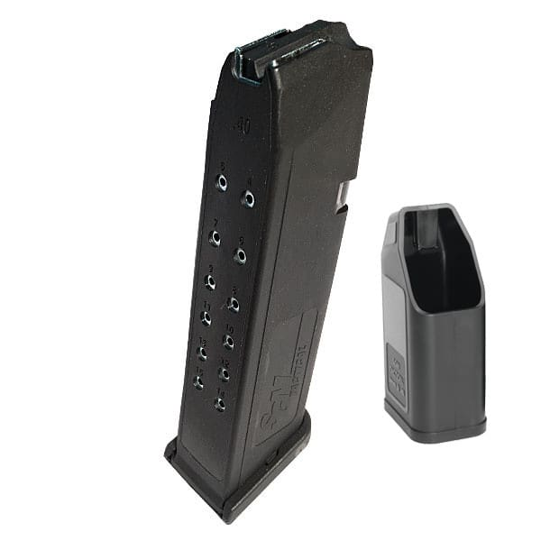 Glock 15 Round Mag by SGM Tactical for .40 Caliber Glocks