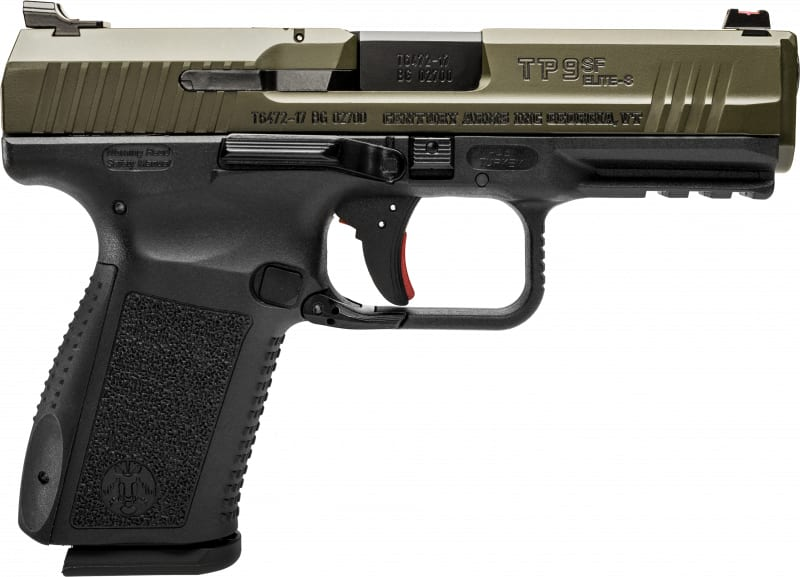 Century Arms CANIK TP-9 - TP9SF Elite S OD Green - HG3899GN