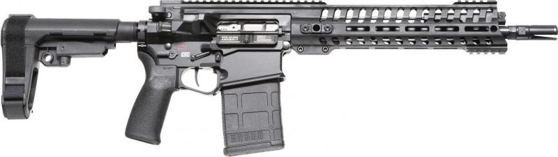 """POF 01391 Revolution Pistol 308 12.5"""" Black"""