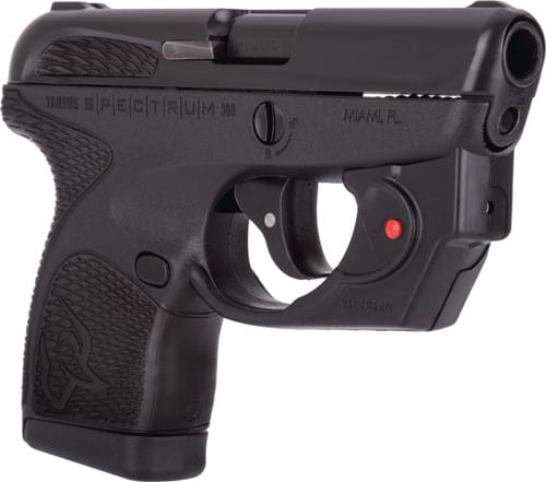 "Taurus 1007031101VL Spectrum 2.8"" FS 6rd Black w/ Viridian E-Series Laser"