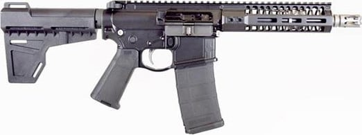 "2A Armament PBA8BOML7BLK2 Balios Lite G2 8"" .300 Blackout Pistol Barrel & 7 M-Lok Rail"
