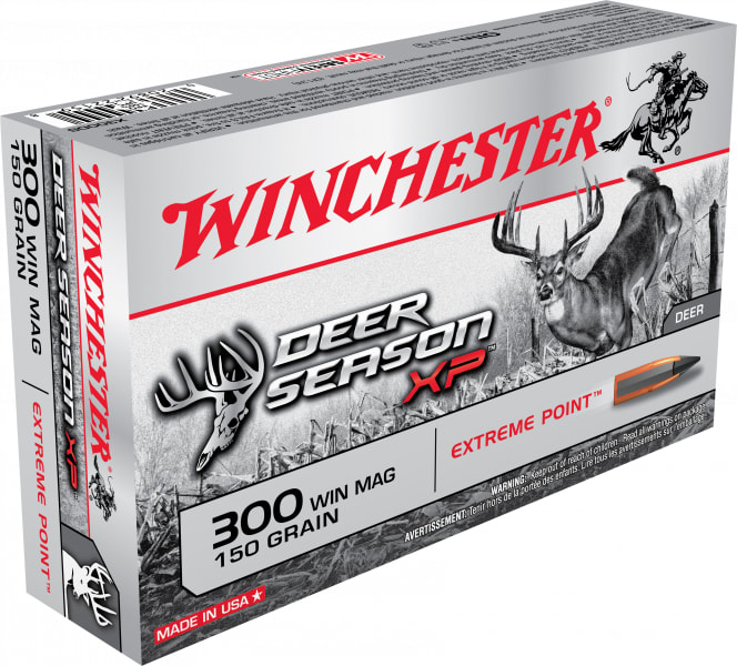 Winchester Ammo X300DS Deer Season XP 300 Winchester Magnum 150 GR Extreme Point - 20rd Box
