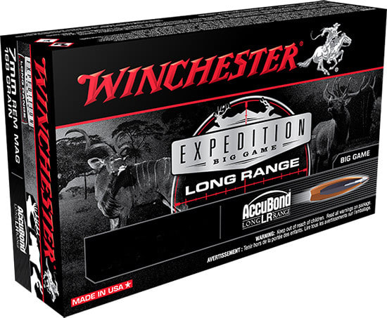 Winchester Ammo S65LR Expedition 6.5 Creedmoor 142 GR AccuBond - 20rd Box