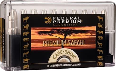 Federal P416RSA Cape-Shok 416 Remington Magnum Swift A-Frame 400 GR - 20rd Box