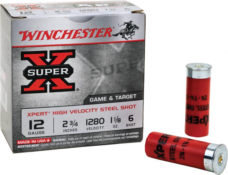 "Winchester Ammo WE20GTVP6 Expert 20GA 2.75"" 3/4oz #6 Shot - 200sh Case"