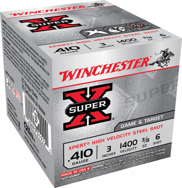 "Winchester Ammo WE413GT6 Expert 410GA 3"" 3/8oz #6 Shot - 250sh Case"
