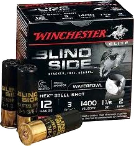 "Winchester Ammo SBS1232VP Blindside 12GA 3"" 1-3/8oz #2 Shot - 200sh Case"