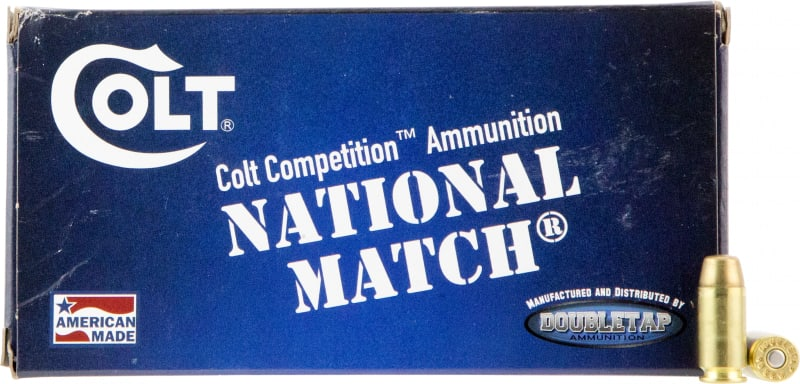 Colt Ammo 40SW180FMJCT Defense Target 40 Smith & Wesson (S&W) 180 GR Full Metal Jacket - 20rd Box