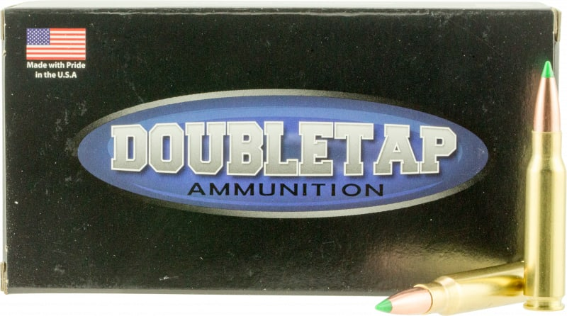 DoubleTap Ammunition 308W125rd DT Defense 308 Winchester/7.62 NATO 125 GR Nosler Ballistic Tip - 20rd Box