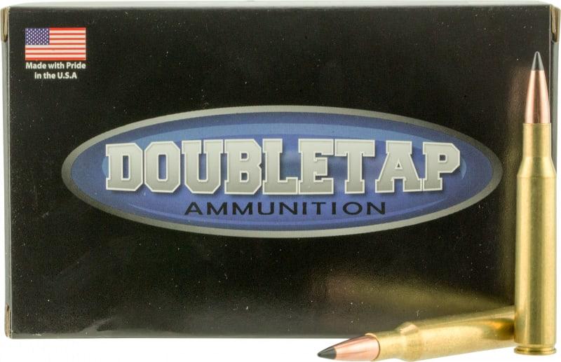 DoubleTap Ammunition 270W130SS Desert Tech Longrange 270 WSM 130 GR Swift A-Frame - 20rd Box