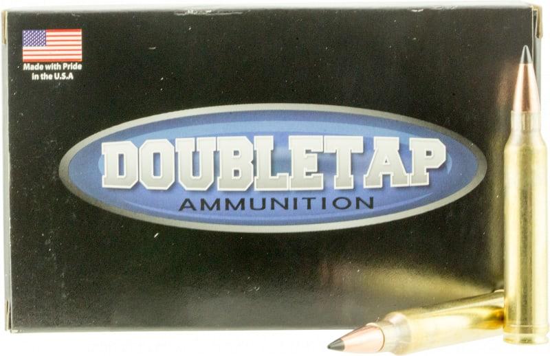 DoubleTap Ammunition 3W165SS DT Longrange 300 Winchester Magnum 165 GR Swift A-Frame - 20rd Box