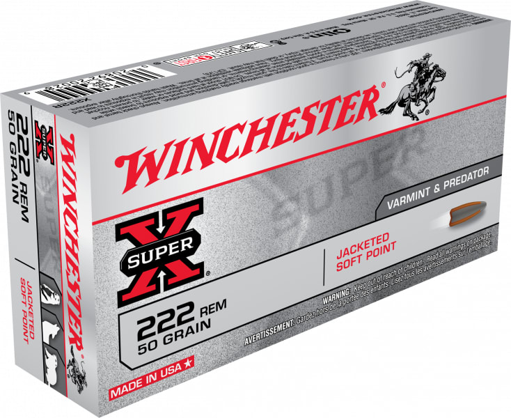 Winchester Ammo X223R Super-X .223/5.56 NATO 55 GR Pointed Soft Point - 20rd Box
