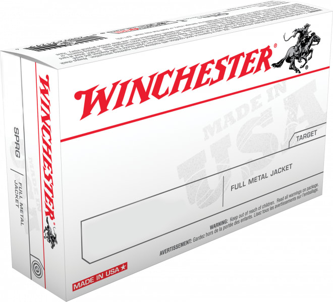 Winchester Ammo USA3006 Best Value 30-06 147 GR Full Metal Jacket - 20rd Box