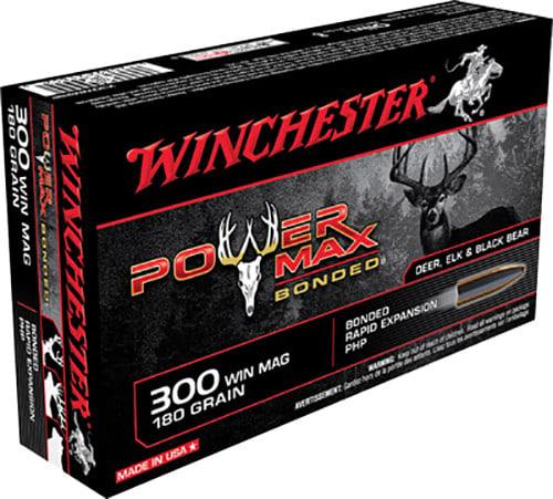 Winchester Ammo X30WM2BP Super-X 300 Winchester Magnum 180 GR Power Max Bonded - 20rd Box