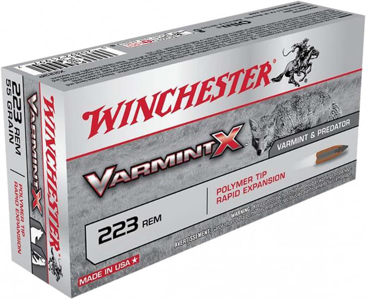 Winchester Ammo X223PLF Varmint X .223/5.56 NATO 38 GR Lead-Free - 20rd Box