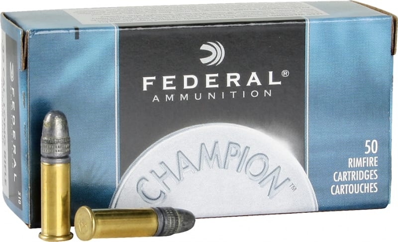 Federal 510 Champion 22 Long Rifle Solid 40 GR - 50rd Box