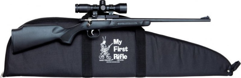 "Keystone Sporting Arms Crickett Gen 2 Package 22LR Rifle, 16.125"" Synthetic Black - 2240BSC"