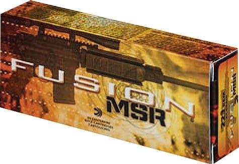 Federal F223MSR1 Fusion MSR .223/5.56 NATO 62 GR Fusion - 20rd Box